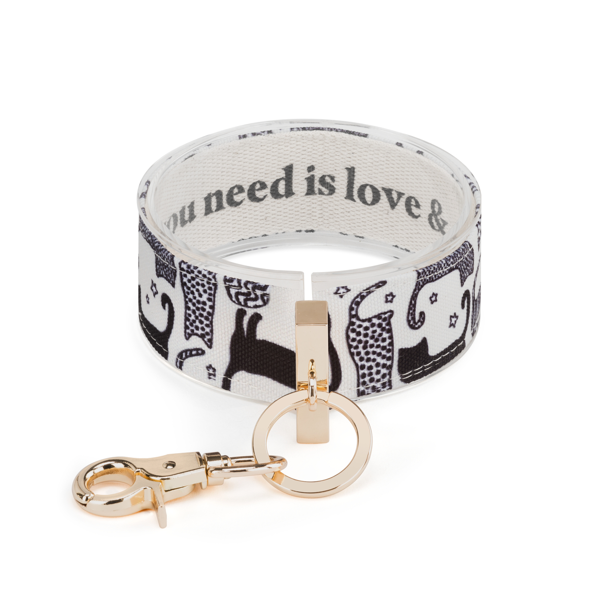 All You Need is Love & a Cat Wrist Strap